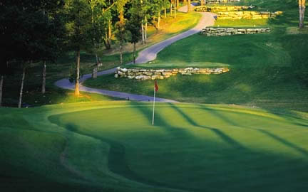 Branson MO Golf Course Resort Holiday Hills Morning