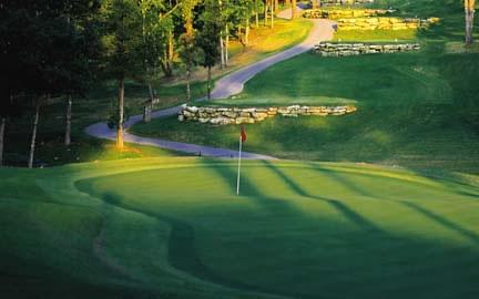 Branson MO Golf Course Resort Holiday Hills Morning