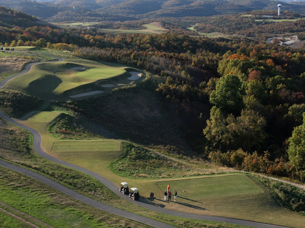 Branson MO Golf Course Resort Murder Rock Par Three