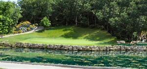 Branson Mo Golf Course Resort Artist Rendition Hole 7